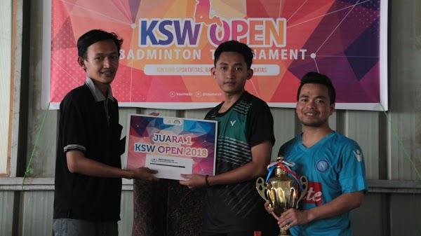 KSW Open, Jalin Silaturahim antar Masisir dengan Bulu Tangkis