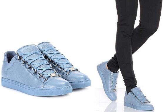 Giày thể thao nam nữ Balenciaga Arena blue