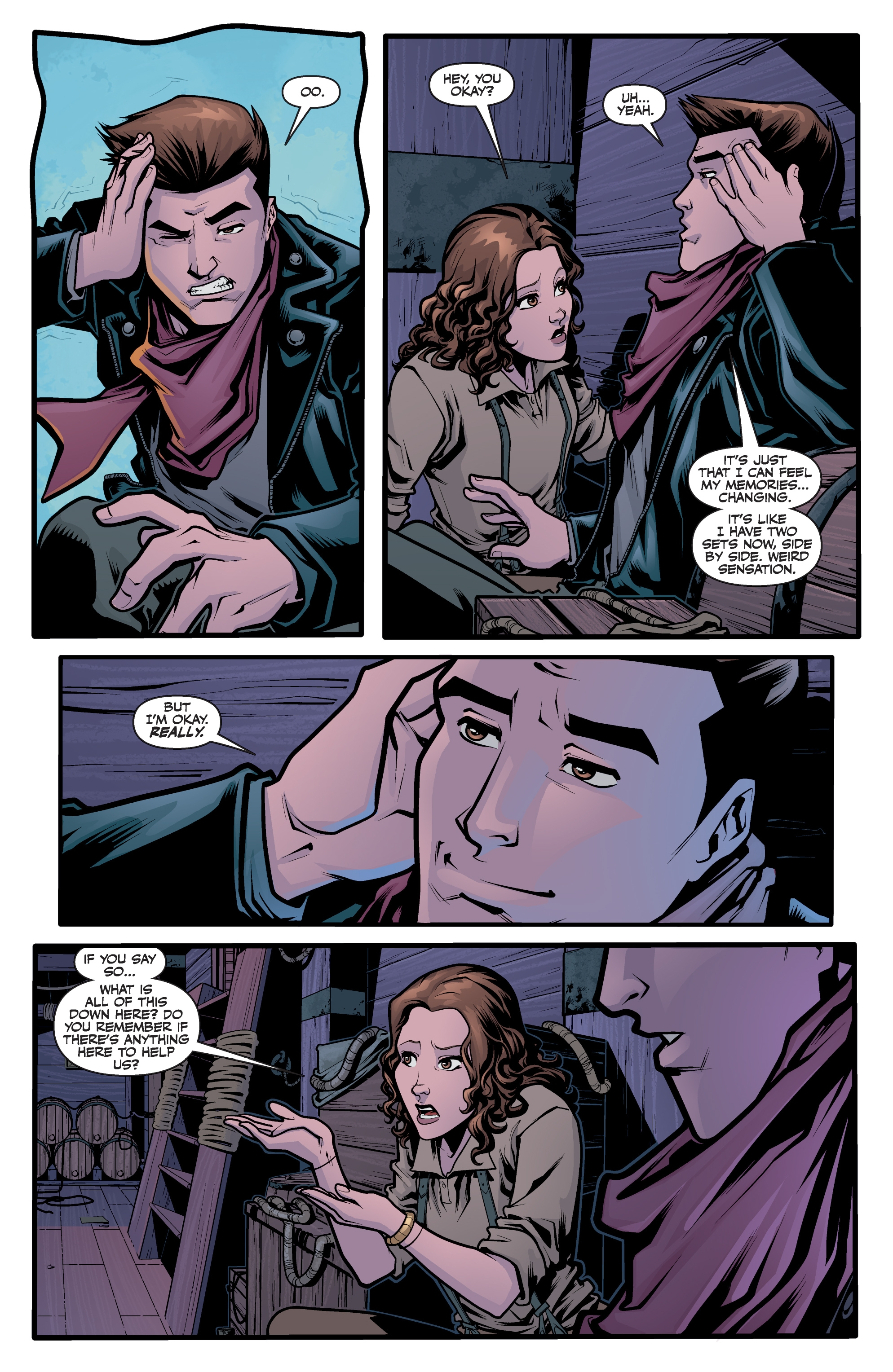 Read online Angel Season 11 comic -  Issue #6 - 9