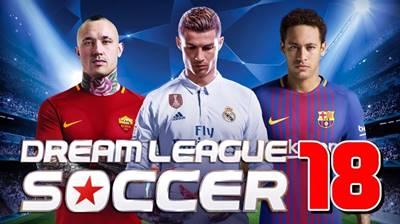 Dream League Soccer 2018 v5.04 MOD Apk Unlimited Coins + DATA Terbaru