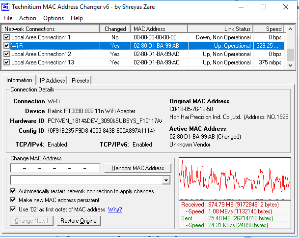 mac addres terbaru wifi id 2021