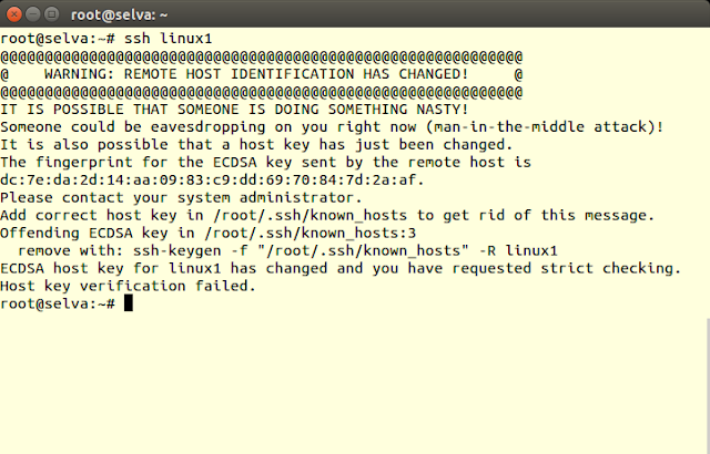 How to Fix SSH Host key verification failed on Linux