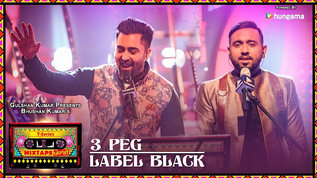 3 Peg / Label Black Lyrics - First mashup from T-series Mixtape Punjabi in the voice of Sharry Mann & Gupz Sehra, composed by Abhijit Vaghani.