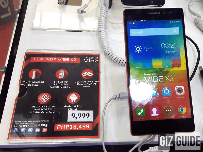 Breaking! Lenovo Vibe X2 Goes Down Again, Now At Just 9999 Pesos!