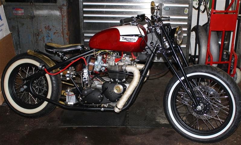 Modern Hinckley Triumph Hardtail | New Design Motorcycle