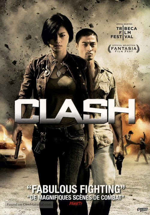 Clash (Bay Rong) (2009) Dual Audio Hindi 300MB BluRay 480p ESubs