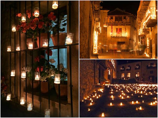 Noche de las velas 2015 en Pedraza
