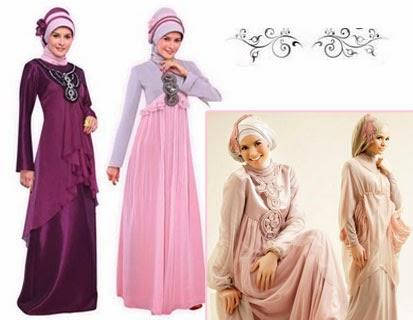 Trend Terbaru Model Gaun Busana Muslim Wanita