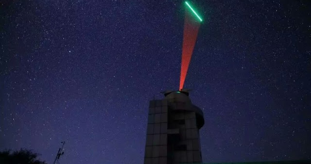 The ground station at Beijing's Xinglong Observatory communicates via laser with China's Quantum Science Satellite Mozi (Micius). Photo: Han Yueyang