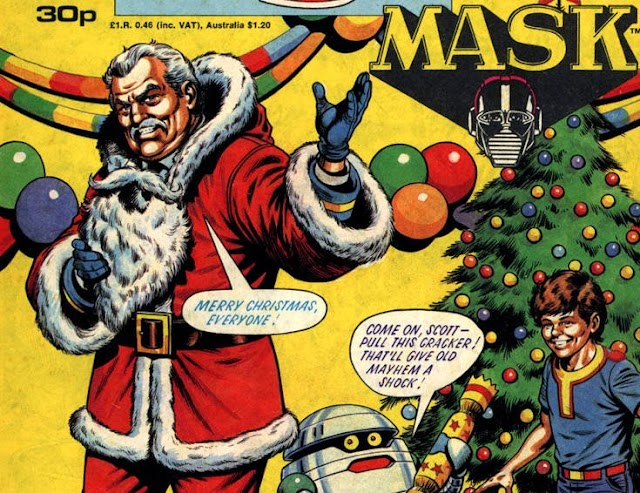 Merry Christmas M.A.S.K. fans!