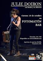 Concierto de Julie Doiron en Fotomatón Bar