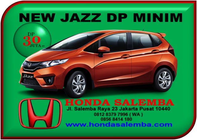 HONDA NEW JAZZ DP MINIM