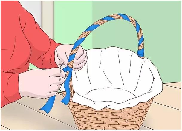 evde bebek hediye sepeti hazırlama