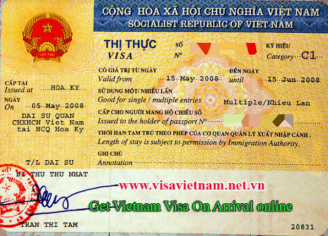 How To Get A Vietnam Visa On Arrival At Airport