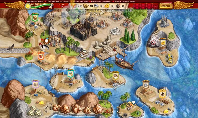 تحميل لعبة Roads of Rome برابط مباشر وحجم صغير للكمبيوتر