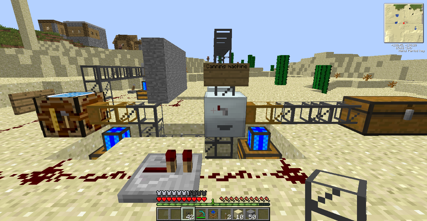 How to make a casino machine in minecraft
