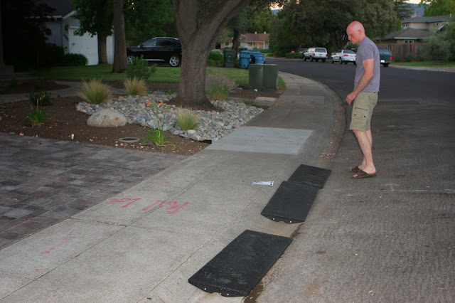 Homecrunch A Quick And Easy Driveway Apron Thumbs Up