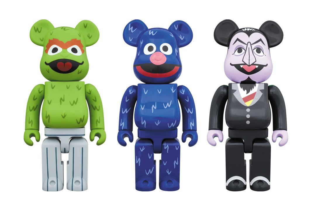 965ed7045055 The Blot Says...  Medicom Toy Expands Its Sesame Street Be rbrick ...
