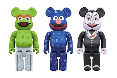 Medicom Toy Expands Its Sesame Street Be@rbrick Toy Line!