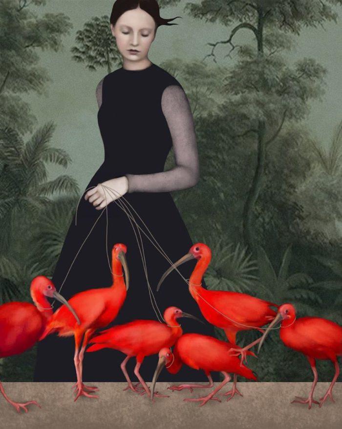 В сказочном стиле. Daria Petrilli