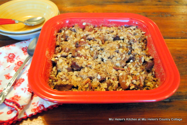 Butternut-Pear Crisp at Miz Helen's Country Cottage