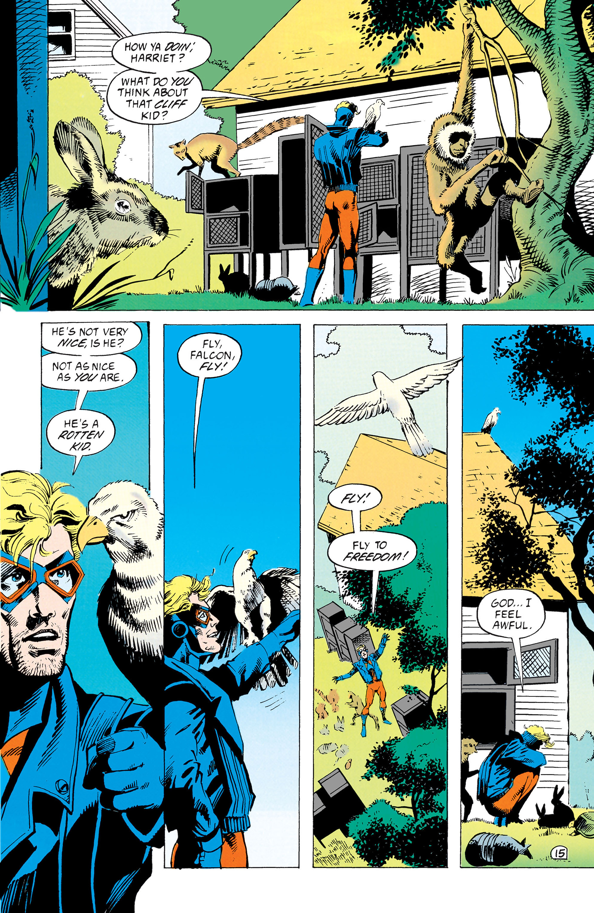 Read online Animal Man (1988) comic -  Issue #39 - 16