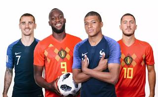 فرنسا ضد بلجيكا