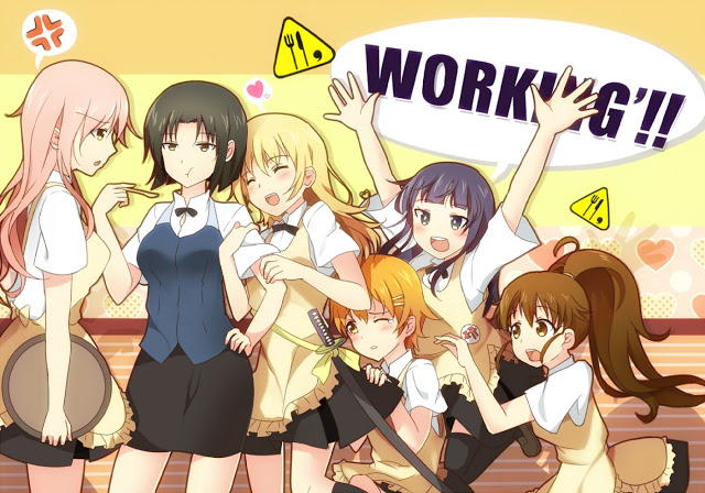 Working BD (Season 1 – Season 3) Subtitle Indonesia + OVA