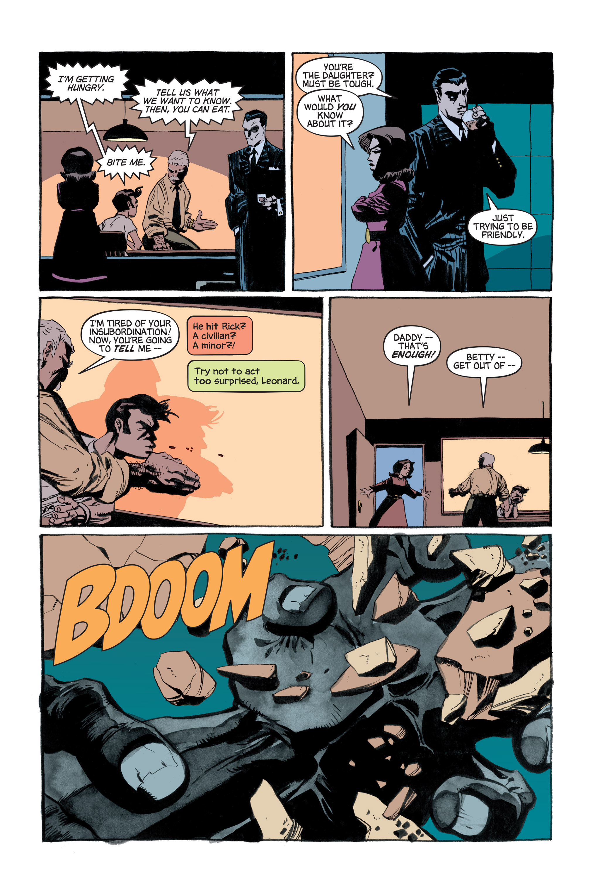 Read online Hulk: Gray comic -  Issue #3 - 17