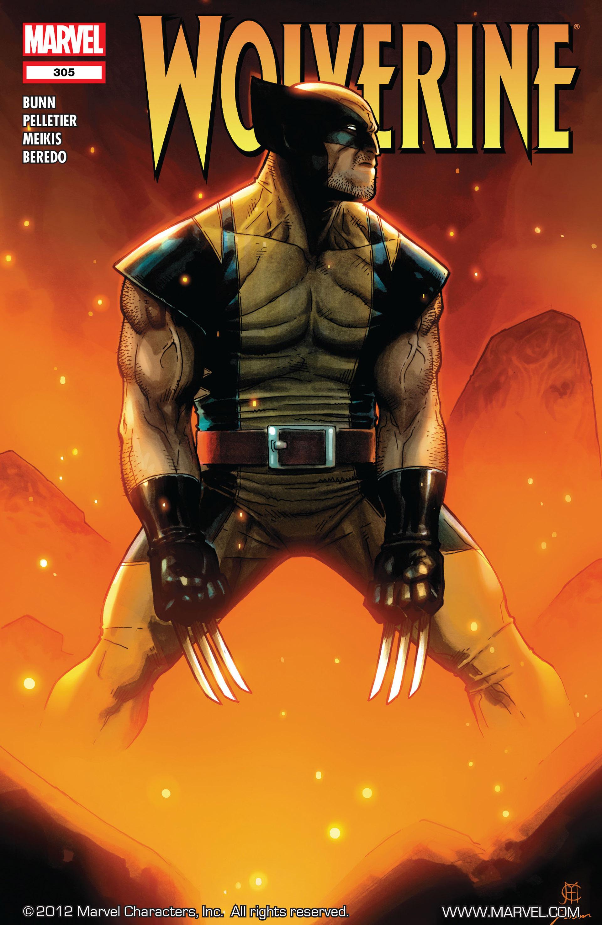 Wolverine (2010) 305 Page 1