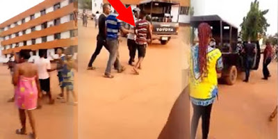 Pant ALERT! Young man caught in Kogi State University Female hostel (VIDEO)