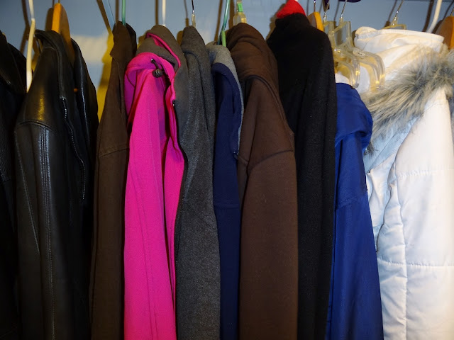 Make room for coats in your foyer closet