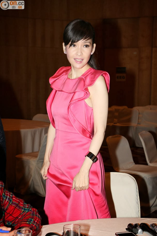 Asian E-News Portal: Vivian Chow is looking forward to Leo Ku's wedding news