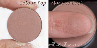 Made to last  - Pressed Eyeshadow Colour Pop