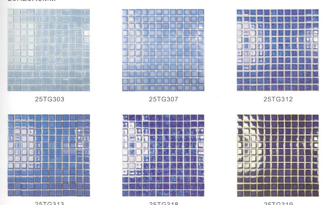 glass mosaic tiles collection