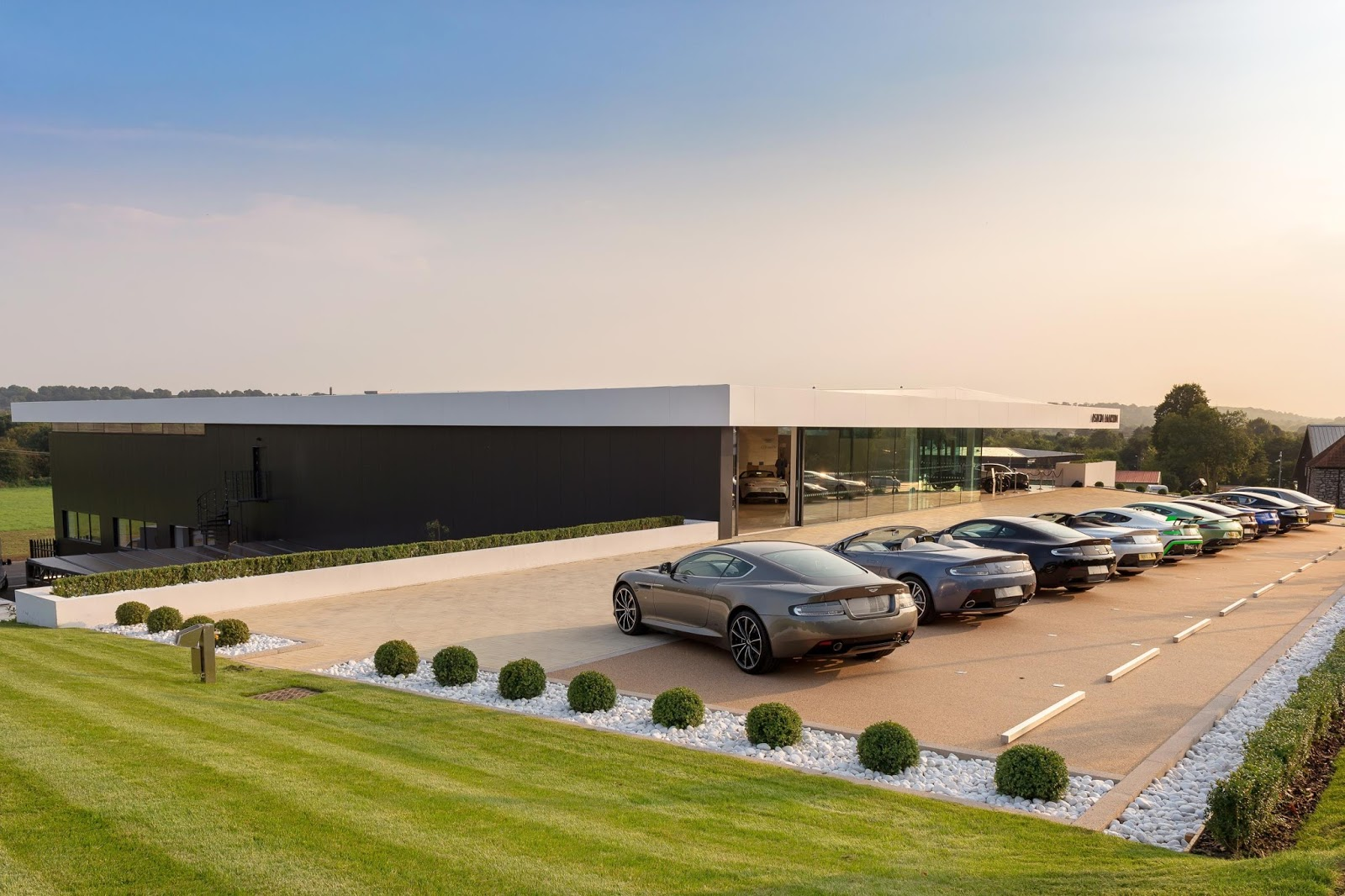The Motoring World Latest Aston Martin Dealership Opens Up In - Aston martin dealers