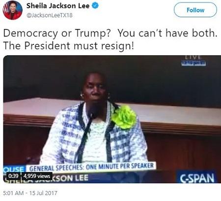 Democrat had sex with an intern