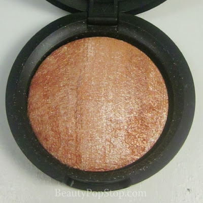 QVC Laura Geller Baked Stackable Macroons Baked Brulee Eyeshadow in Chestnut Review