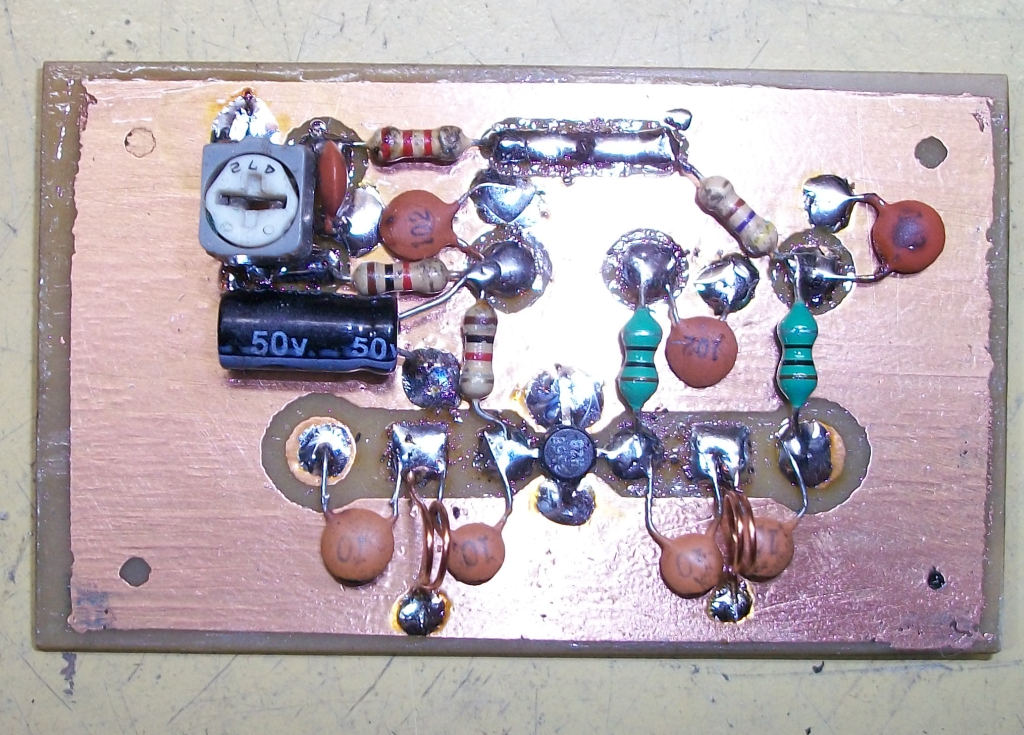 Drf Antenna Booster Tv Uhf 2sc3355 1 Transistor
