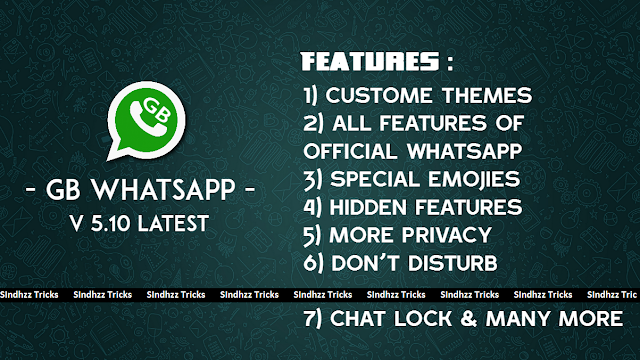 GbWhatsapp Latest Version V 5.10 Apk is Here