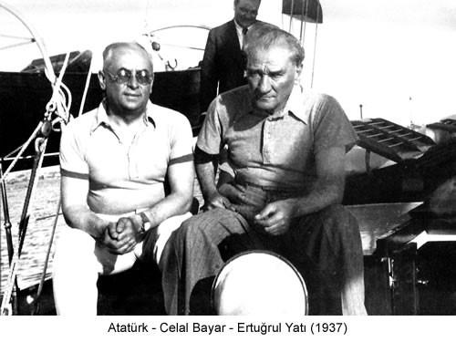 Atatürk Celal Bayar 1937 Fotoğraf