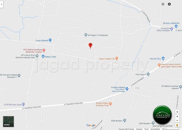 Tanah Dijual di Galur jalur Bandara Baru Kulonprogo