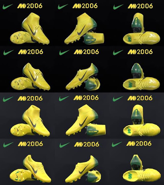 NIKE ID 2006 Boots PES 2017 & PES 2018
