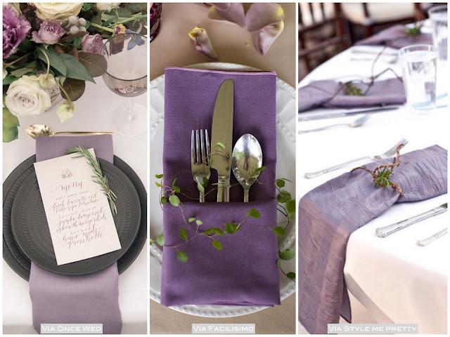 decoração festa lilás