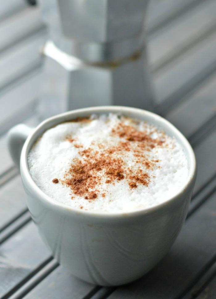 cinnamon vanilla latte