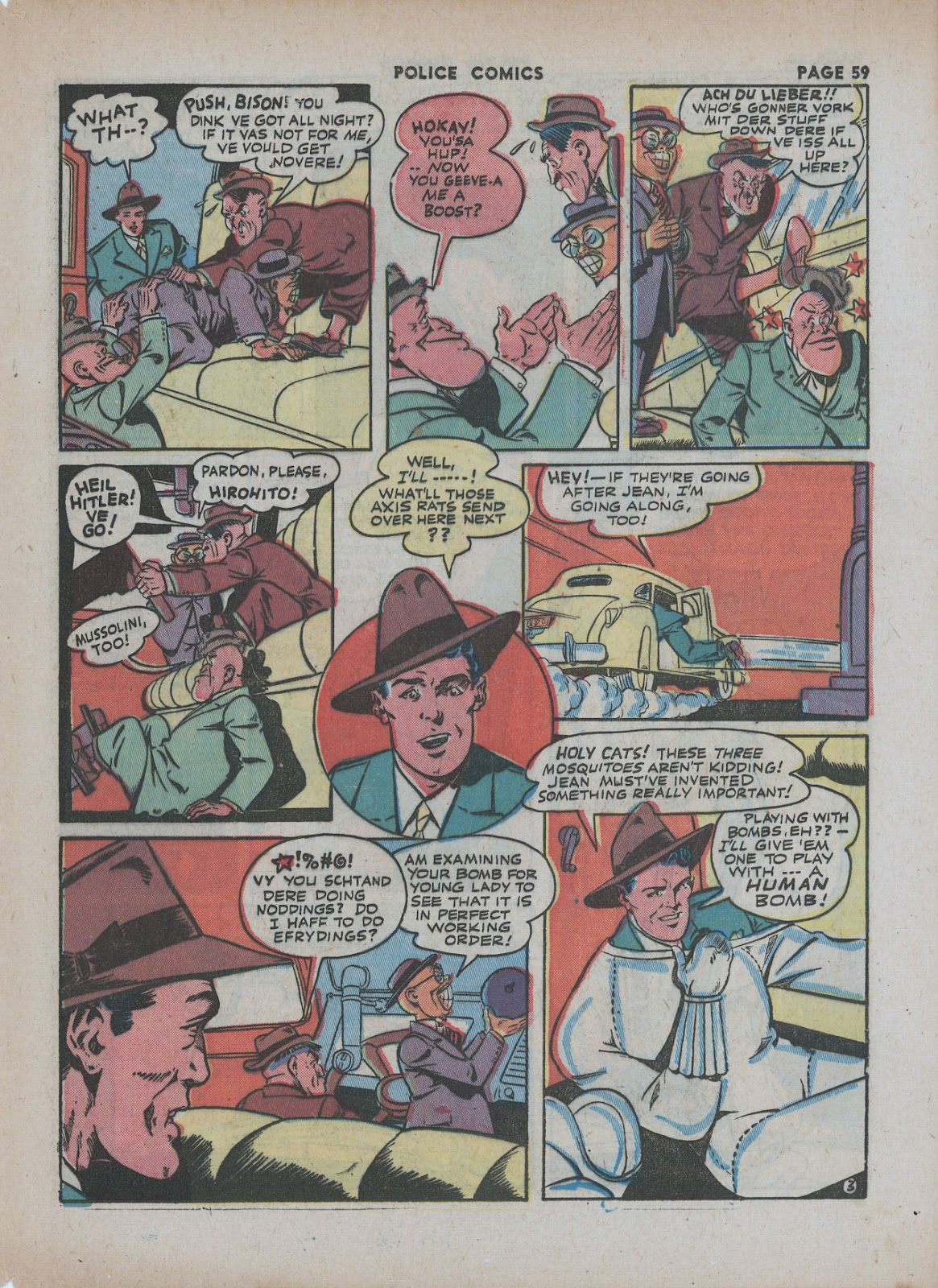 Police Comics issue 18 - Page 61