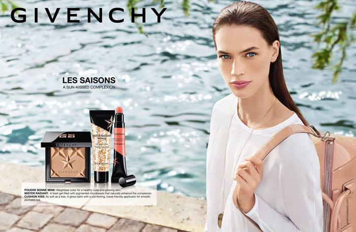 Givenchy Les Saisons Summer 2016 makeup collection