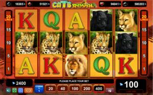 Jucat acum Cats Royal Slot Online
