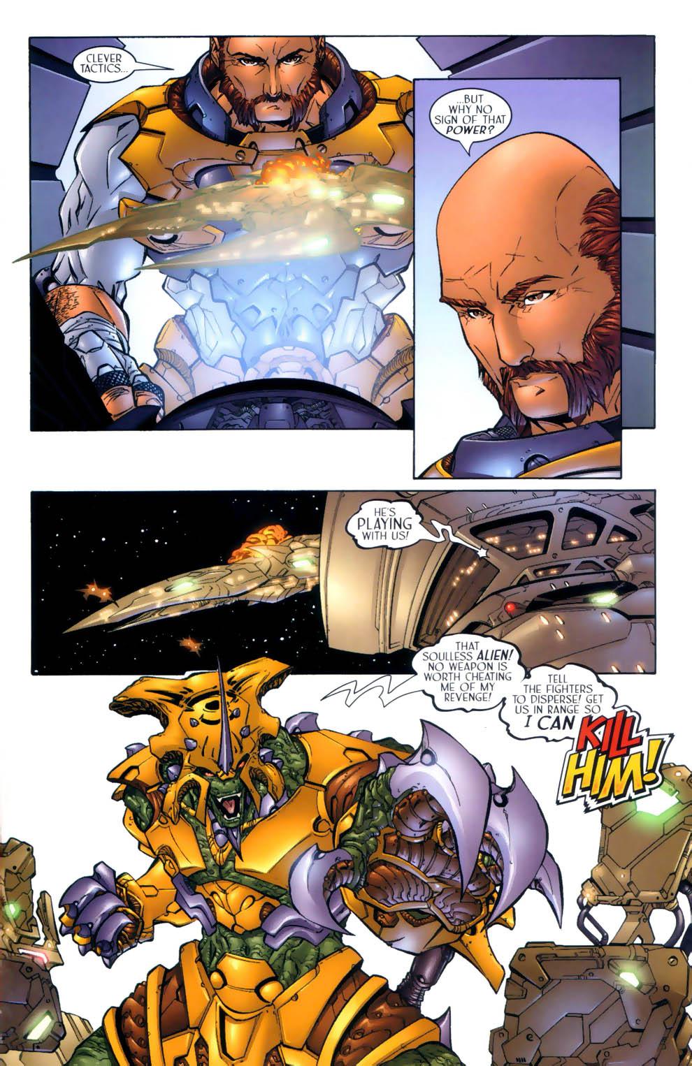 Read online Sigil (2000) comic -  Issue #3 - 14