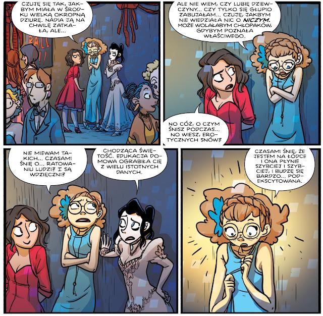 giant days, tom 2, obudźcie mnie jak będzie po wszystkim, non stop comics, recenzja komiksu